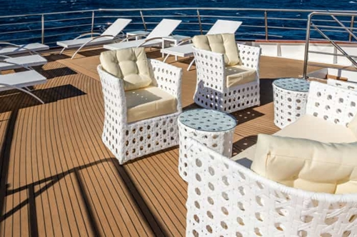 MV Adriatic Queen sundeck