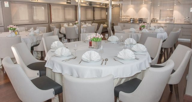 MV Adriatic Sun dining