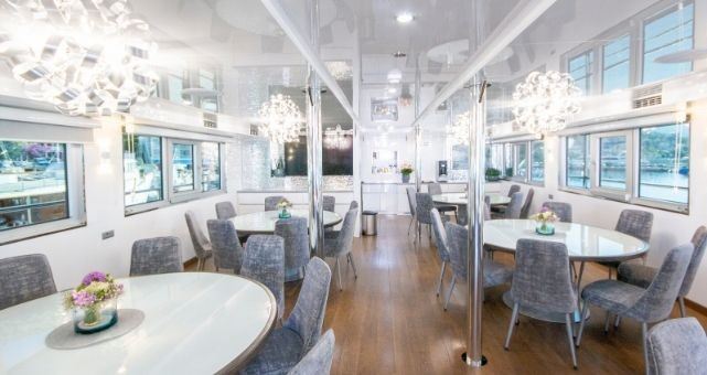 MV Katarina dining area