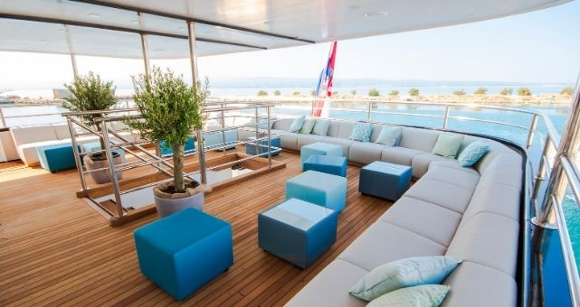 MV Katarina outside lounge area