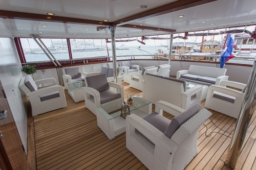 MV Adriatic Sun lounge