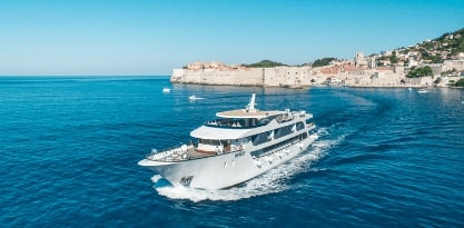 MV Infinity, Cruise Croatia