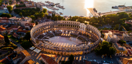 Cruise Croatia: Pula