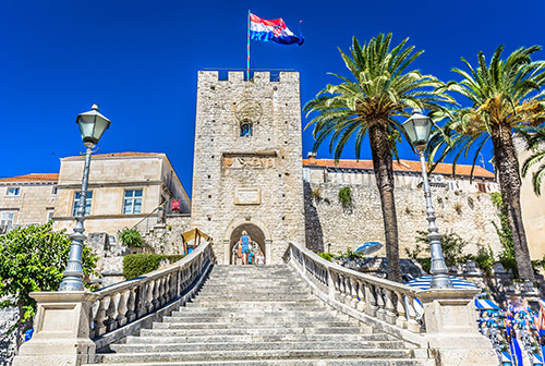 Korcula revelin tower