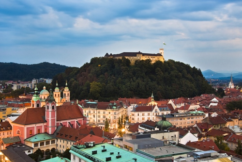 Ljubljana, capital of Slovenia