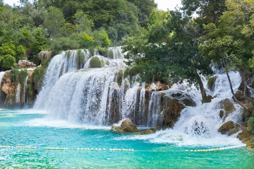 Krk Waterfalls National Park, Croatia