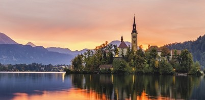 Slovenia sunset