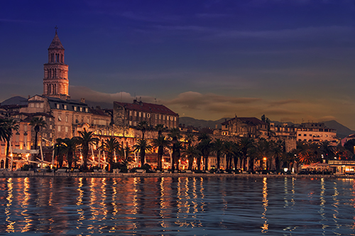 View of Split, Croatia