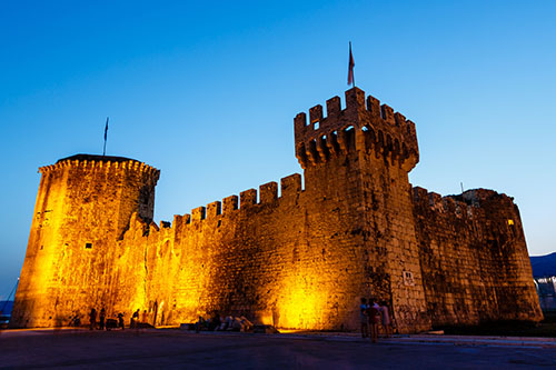 Medieval Castle of Kamerlengo in Trogir