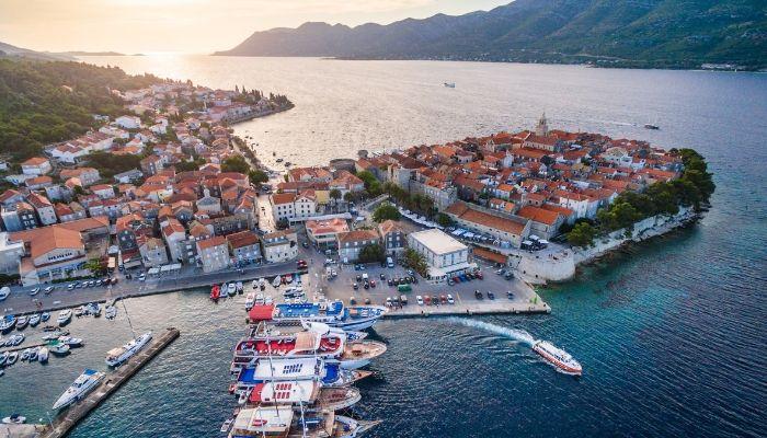 Korcula, Cruise Croatia