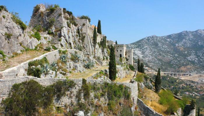 Klis Fortrress, Split, Croatia, Cruise Croatia