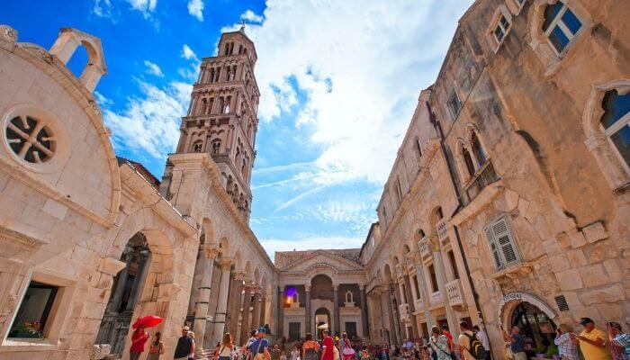 Diocletian's Palace, Split, Croatia, Cruise Croatia
