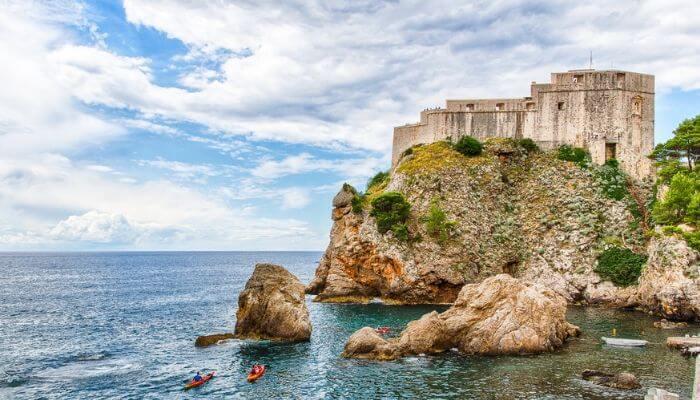 Lovrijenas Fortress, Dubrovnik, Croatia, Cruise Croatia
