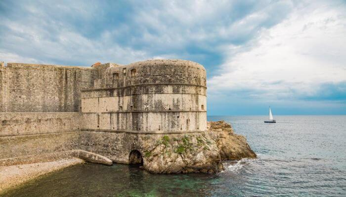 Cruise Croatia, Croatia, Dubrovnik, Bokar Fortress
