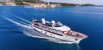 MS Stella Maris Ship in Croatia