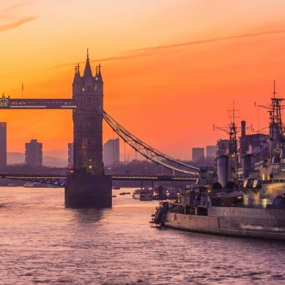 The World's Most Instagrammed Ships, HMS Belfast, London
