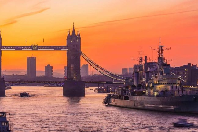 The World's Most Instagrammed Ships, HMS Belfast, London