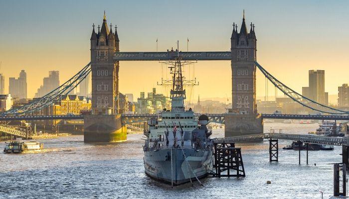 HMS Belfast, London