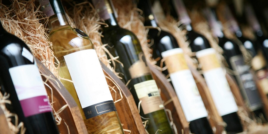 Case of wines from Cruise Croatia