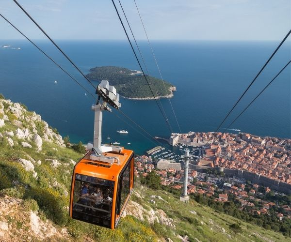 Cable car to Srd Mountain, Dubrovnik