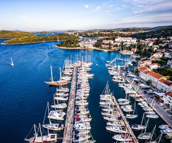 Sailing in Croatia in August