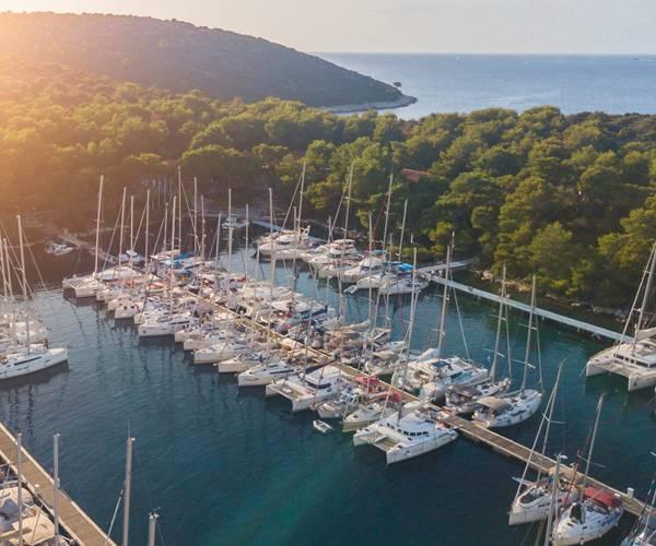 Sailing in Croatia in June