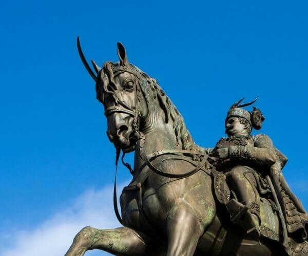 Josip Jelacic Statue