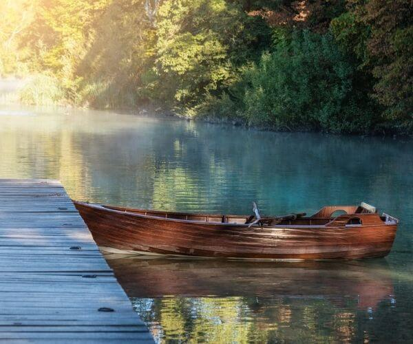 Plitvice Lakes Rowing Boat