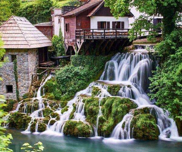 Rastoke Waterfalls