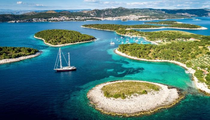 Paklinski Islands, Hvar, Croatia
