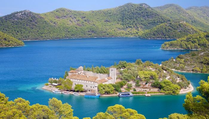 St.Mary benedictine monastery, Mljet, Croatia