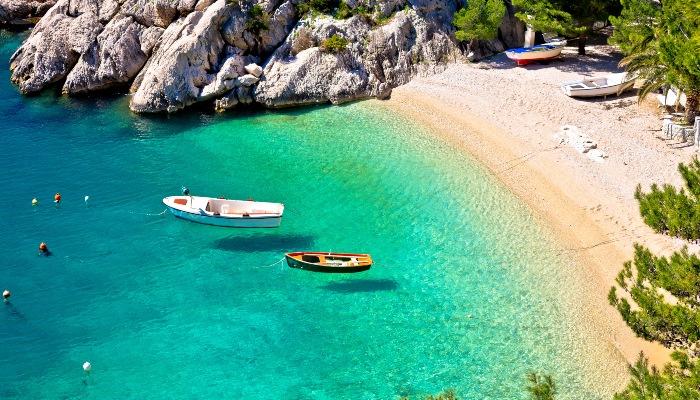 Punta Rata beach, Makarska, Croatia