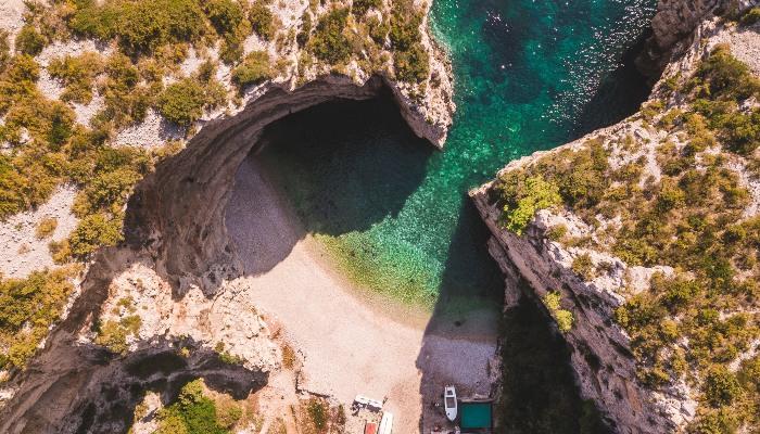 Stiniva Beach, Vis, Croatia
