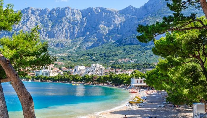 Makarska coastline, Croatia