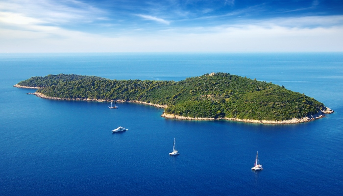 Yachts in Adriatic Sea