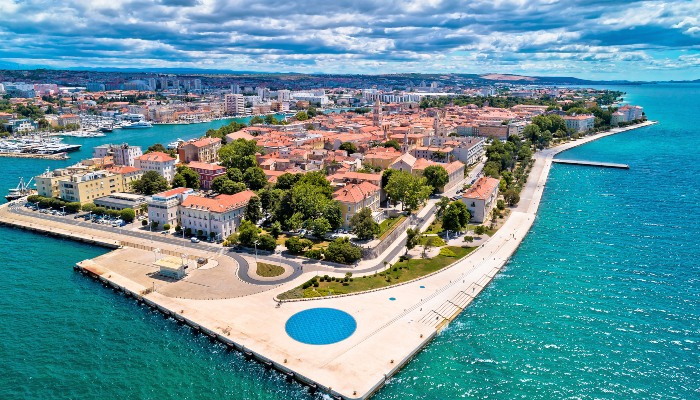 Zadar waterfront