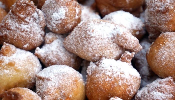 Fritule doughballs, Croatia