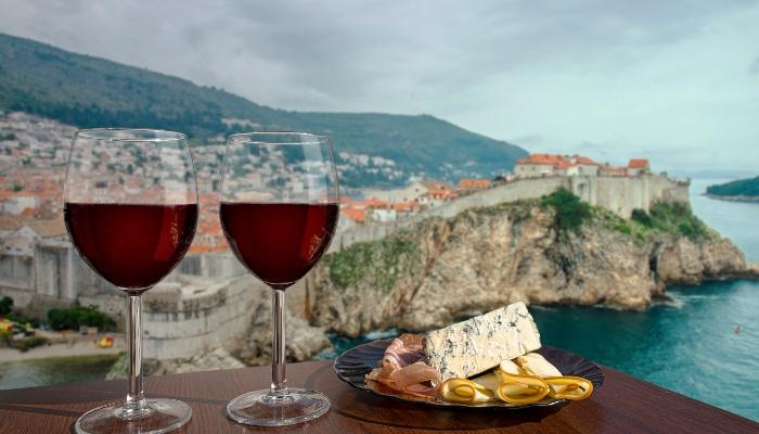 Red wine, Dubrovnik