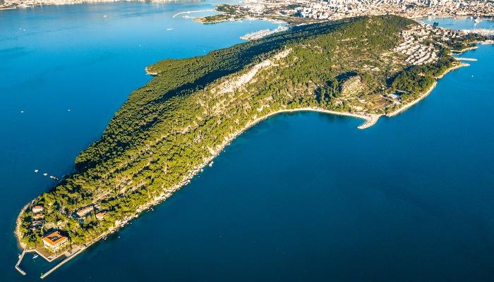 Marjan Peninsula, off Split