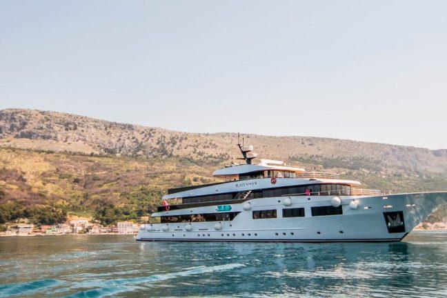 Black Swan cruise ship, Croatia