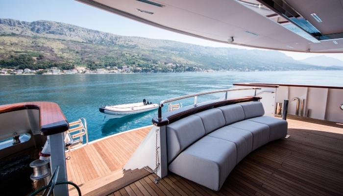 Cruise ship in Croatia